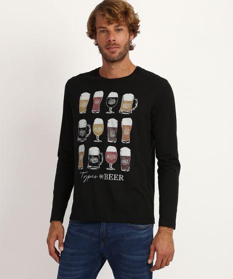 Camiseta-Masculina-Cervejas-Manga-Curta-Gola-Careca-Preto-9958231-Preto_1