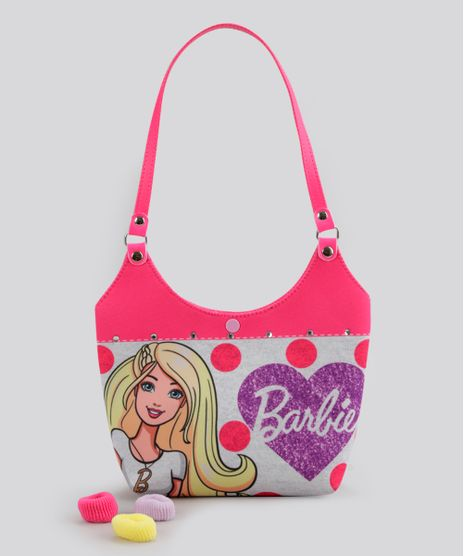 Bolsa-Barbie-Estampada-de-Poa-Pink-8741759-Pink_1