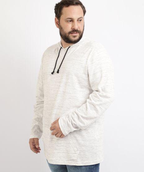 Camiseta-Masculina-Plus-Size-com-Capuz-e-Bolso-Canguru-Manga-Longa-Off-White-9964088-Off_White_1