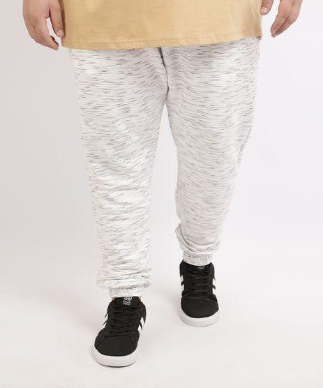Calca-de-Moletom-Masculina-Plus-Size-Basica-Jogger-Off-White-9951400-Off_White_1