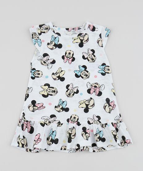 Vestido-Infantil-Minnie-com-Babados-Manga-Curta-Off-White-9958275-Off_White_1