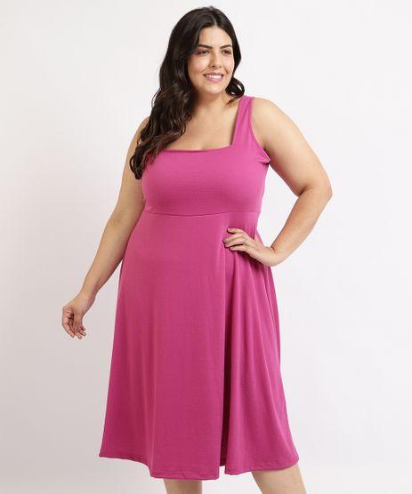 Vestido-Feminino-Plus-Size-Mindset-Midi-Regata-Decote-Quadrado-Pink-9964133-Pink_1