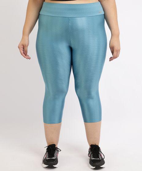 Calca-Feminina-Plus-Size-Esportiva-Ace-Corsario-Texturizada-Cintura-Alta-Azul-9955132-Azul_1
