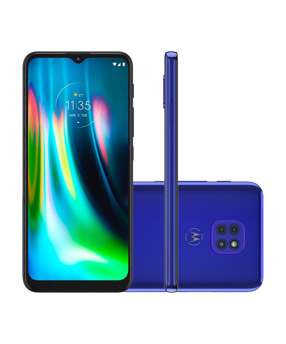 Smartphone Motorola XT2083-1 Moto G9 Play 64GB Azul Safira