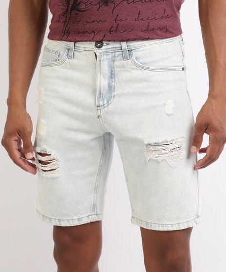 Bermuda-Jeans-Masculina-Slim-Destroyed-Azul-Claro-9952414-Azul_Claro_1