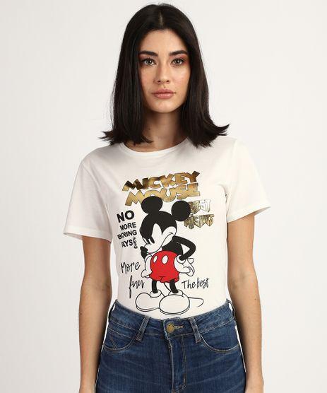 Blusa-Feminina-Mickey-Mouse-Manga-Curta-Decote-Redondo-Branca-9865802-Branco_1