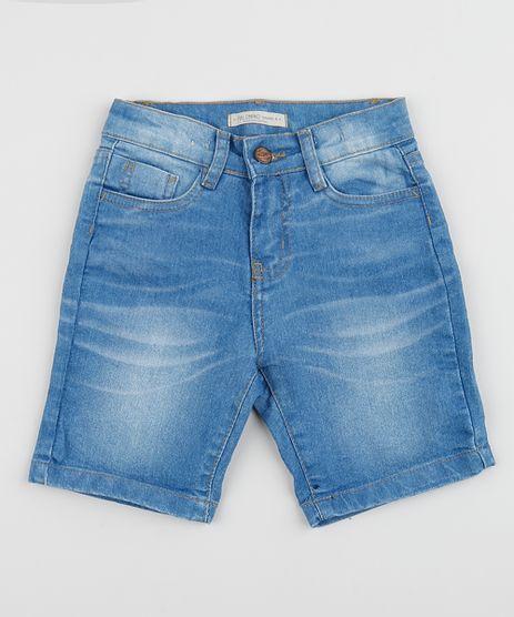 Bermuda-Jeans-Infantil-com-Bolsos--Azul-Medio-9955036-Azul_Medio_1
