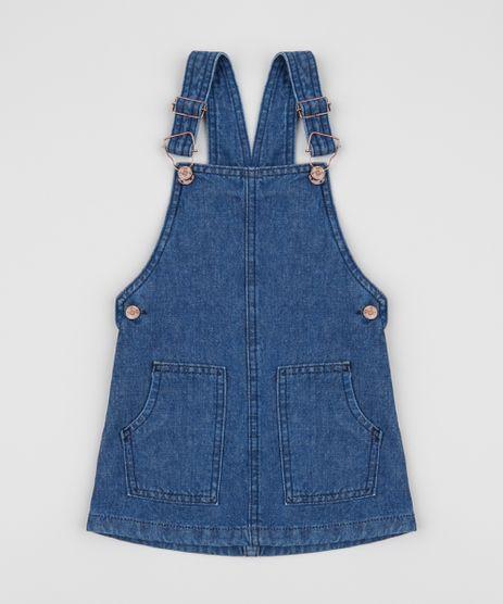Salopete-Jeans-Infantil-com-Bolsos-Azul-Medio-9958586-Azul_Medio_1