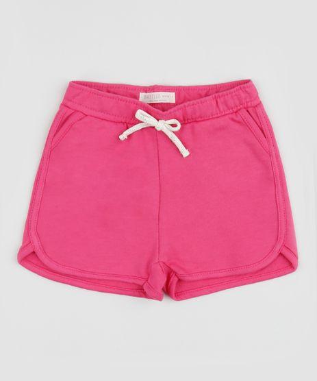 Short-Infantil-Running-com-Cordao--Rosa-9961481-Rosa_1