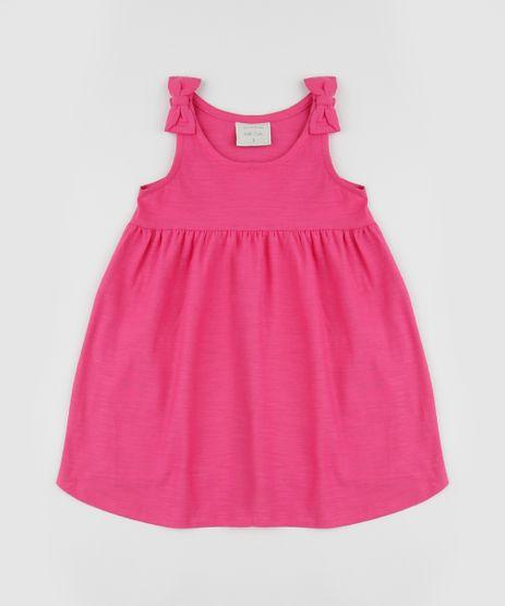 Vestido-Infantil-Alca-Media-com-Laco-Rosa-9961487-Rosa_1
