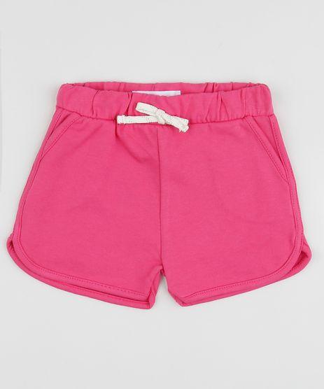 Short-Infantil-Running-com-Cordao--Rosa-9961885-Rosa_1