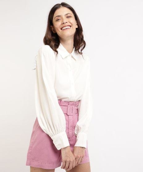 Camisa-Feminina-Mindset-Ampla-Manga-Bufante-Off-White-9964415-Off_White_1