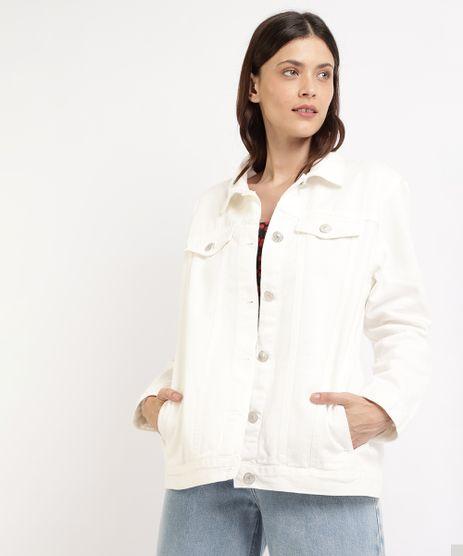 Jaqueta-de-Sarja-Feminina-Mindset-Trucker-Longa-com-Bolsos-Off-White-9964417-Off_White_1