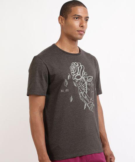 Camiseta-Masculina-Rosa-Manga-Curta-Gola-Careca-Cinza-Mescla-Escuro-9944254-Cinza_Mescla_Escuro_1