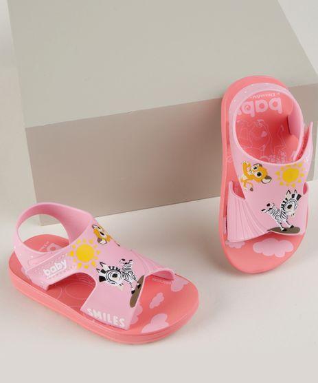 Sandalia-Infantil-Grendene-Zebra-com-Velcro--Rosa-9962144-Rosa_1