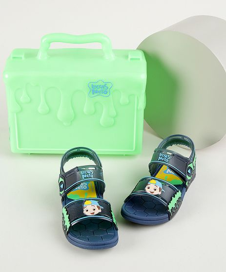 Sandalia-Papete-Infantil-Grendene-Luccas-Neto-Vem-com-Maleta-Azul-Marinho-9962314-Azul_Marinho_1