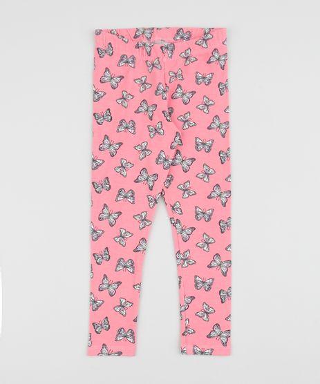 Calca-Legging-Infantil-Estampada-de-Borboletas-Pink-9942631-Pink_1