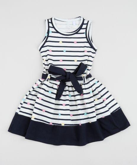 Vestido-Infantil-Listrado-com-Faixa-para-Amarrar-Off-White-9953029-Off_White_1