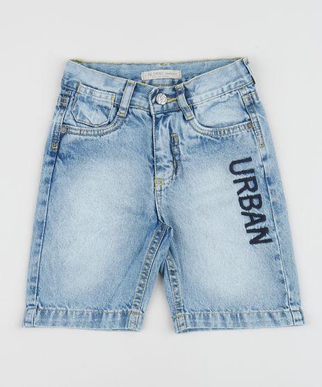 Bermuda-Jeans-Infantil-Reta-com-Bordado-Azul-Claro-9953869-Azul_Claro_1