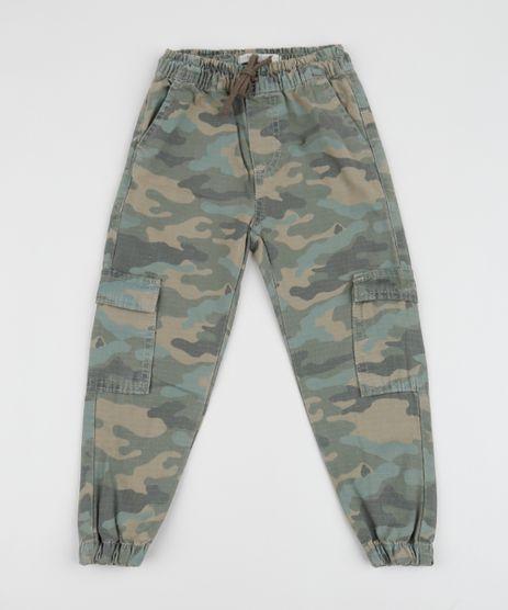 Calca-de-Sarja-Infantil-Jogger-Cargo-Estampada-Camuflada-Verde-Militar-9953875-Verde_Militar_1