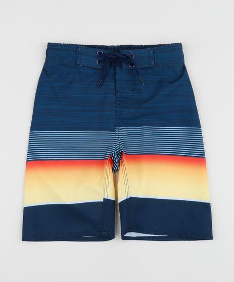 Bermuda-Surf-Infantil-Listrada-Azul-9954482-Azul_1