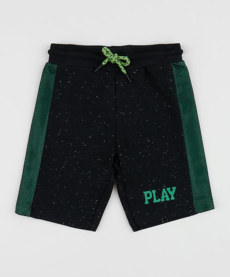 Bermuda-de-Moletom-Infantil--Play--Recorte-Lateral-Preta-9955120-Preto_1