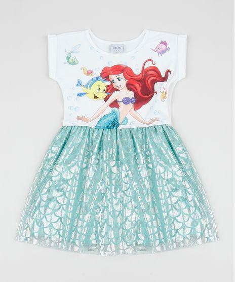 Vestido-Infantil-Pequena-Sereia-com-Tule-Manga-Curta-Verde-Agua-9956567-Verde_Agua_1