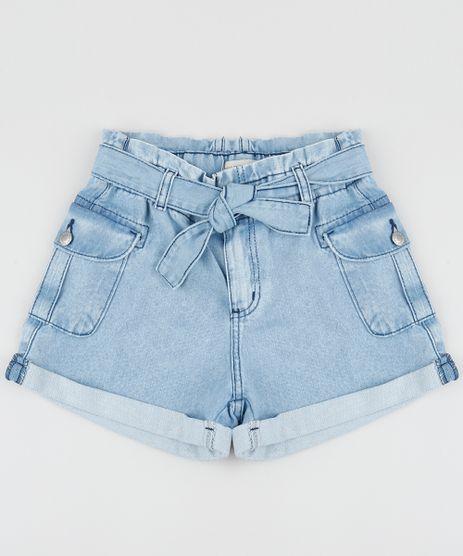 Short-Jeans-Juvenil-Clochard-com-Faixa-para-Amarrar-Azul-Medio-9957966-Azul_Medio_1