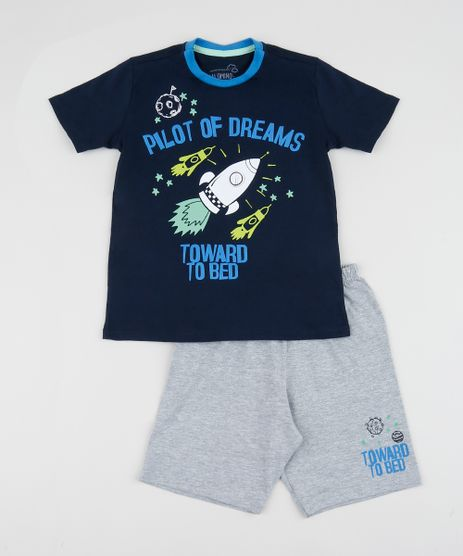 Pijama-Infantil-Foguete-Manga-Curta-Azul-Marinho-9960300-Azul_Marinho_1
