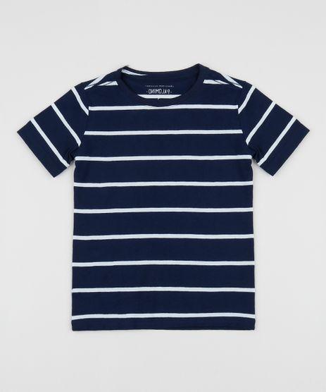 Camiseta-infantil-Listrada-Manga-Curta-Gola-Careca-Multicor-9962991-Multicor_1