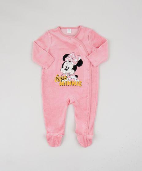 Macacao-de-Plush-Infantil-Minnie-Manga-Longa-Rosa-9839840-Rosa_1