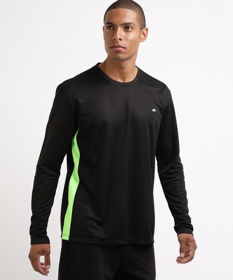 Camiseta-Masculina-Esporte-Ace-Futebol-com-Recortes-Manga-Longa-Gola-Careca-Preta-9962232-Preto_1