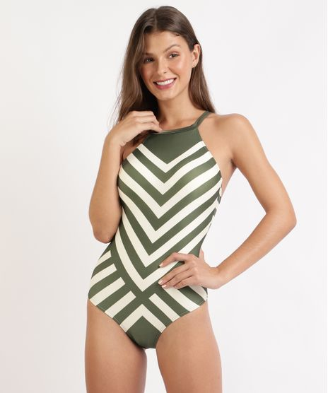 Maio-Body-Halter-Neck-Listrado-Geometrico-com-Bojo-Verde-Militar-9949939-Verde_Militar_1