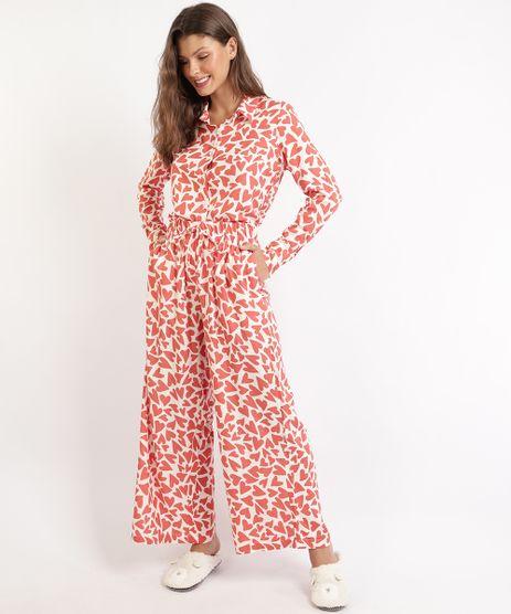 Pijama-Feminino-Camisa-Estampado-de-Coracoes-Manga-Longa-Off-White-9961014-Off_White_1