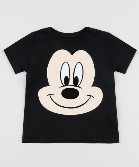 Camiseta-Infantil-Mickey-Manga-Curta-Gola-Careca-Preta-9954132-Preto_1