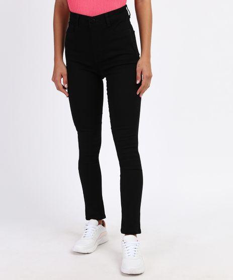 Calca-Jeans-Feminina-Sawary-Skinny-Super-Lipo-Cintura-Alta-Preta-9963405-Preto_1