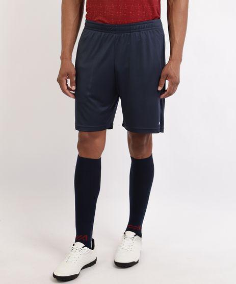 Bermuda-Masculina-Esporte-Ace-Futebol-com-Bolsos-e-Cos-com-Elastico-Azul-Marinho-9961990-Azul_Marinho_1