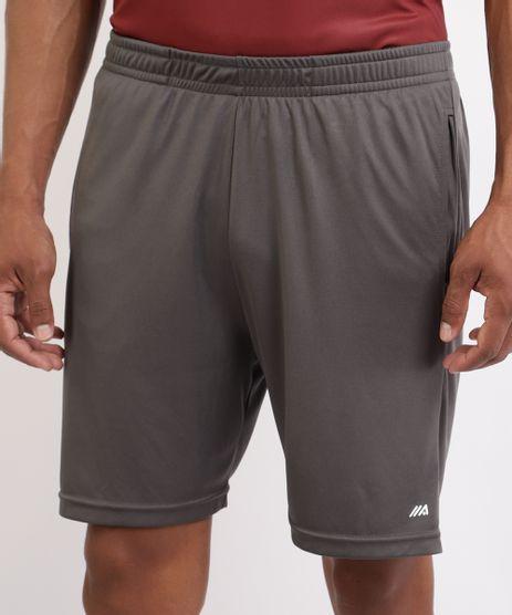 Bermuda-Masculina-Esporte-Ace-Futebol-com-Bolsos-e-Cos-com-Elastico-Chumbo-9961990-Chumbo_1