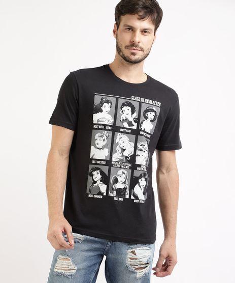 Camiseta-Masculina-Princesas-Manga-Curta-Gola-Careca-Preta-9959834-Preto_1