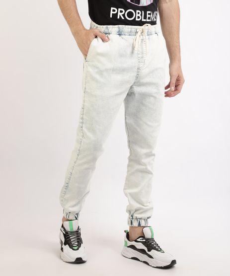 Calca-Jeans-Masculina-Jogger-Skynny-com-Bolsos-e-Cadarco-Azul-Claro-9965109-Azul_Claro_1