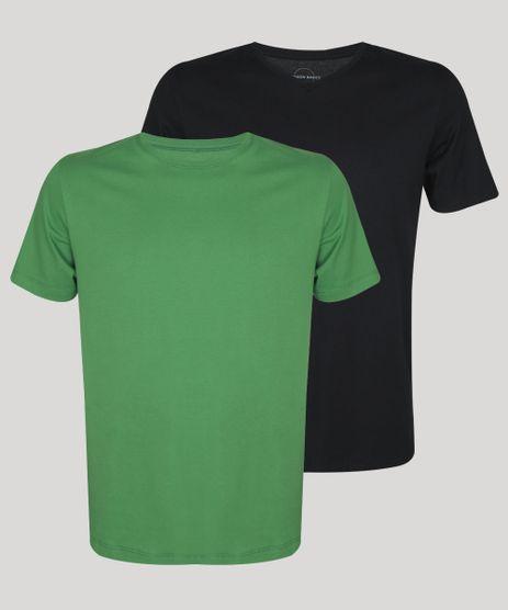Kit-de-2-Camisetas-Masculinas-Basicas-Manga-Curta-Gola-Careca--Multicor-9962742-Multicor_1