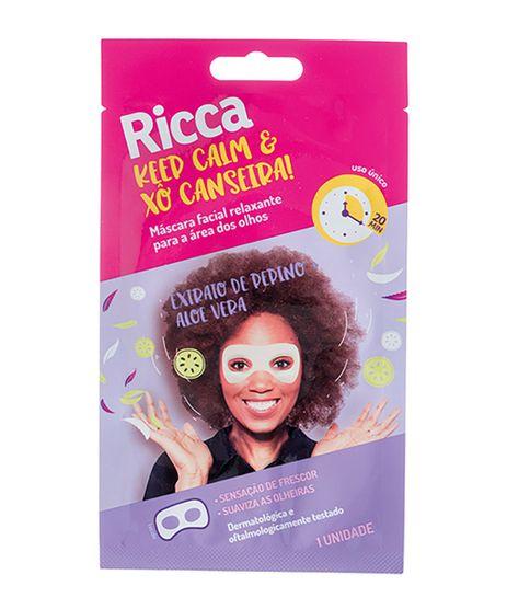 Mascara-Facial-Ricca-Relaxante-Para-a-Area-dos-Olhos-Keep-Calm---Xo-Canseira--Unico-9964381-Unico_1