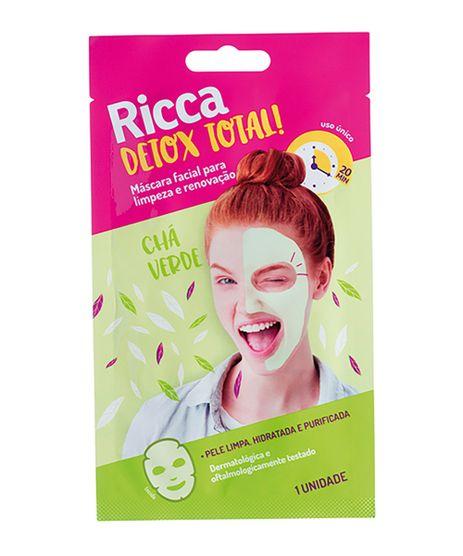 Mascara-Facial-Ricca-Para-Limpeza-e-Renovacao-Detox-Total--Unico-9964442-Unico_1
