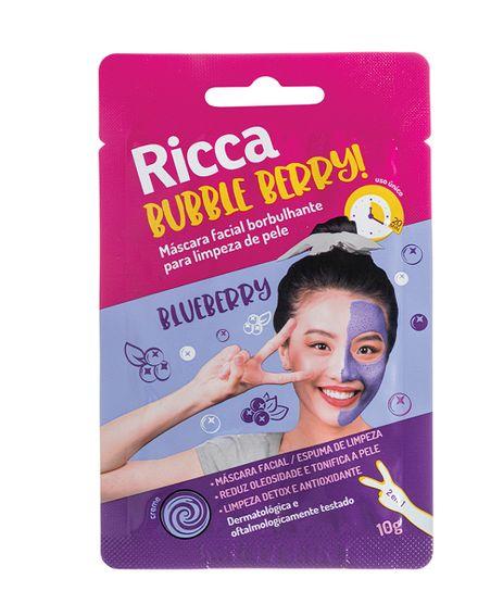 Mascara-Facial-Ricca-Borbulhante-Parar-Limpeza-de-Pele-Bubble-Berry--Unico-9964466-Unico_1