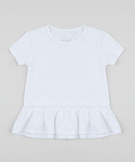 Blusa-Infantil-Basica-com-Glitter-e-Babado-Manga-Curta-Branca-9954811-Branco_1