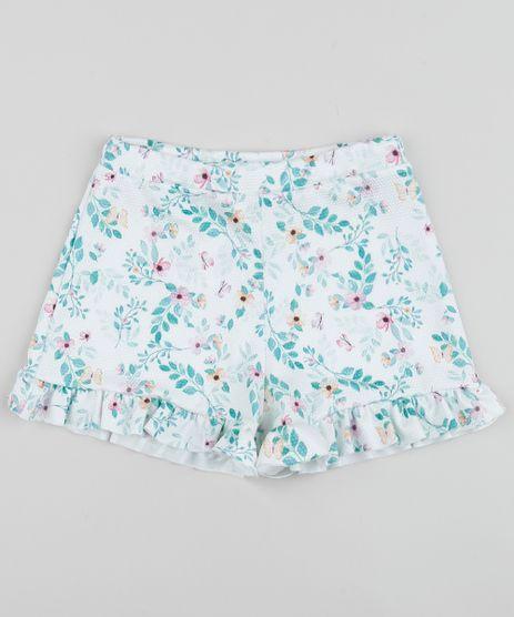 Short-Infantil-Estampado-Floral-com-Babado-Multicor-9956020-Multicor_1