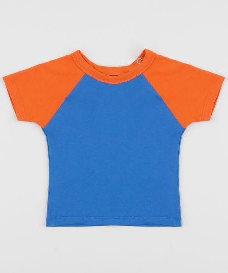 Camiseta-Infantil-Basica-Manga-Curta-Raglan-Laranja-9962827-Laranja_1