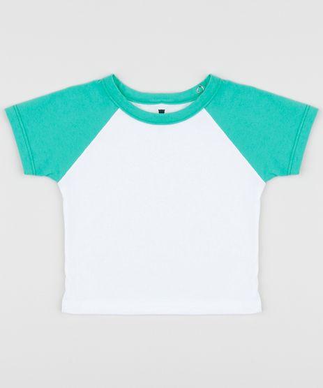 Camiseta-Infantil-Basica-Manga-Curta-Raglan-Verde-9962827-Verde_1_1