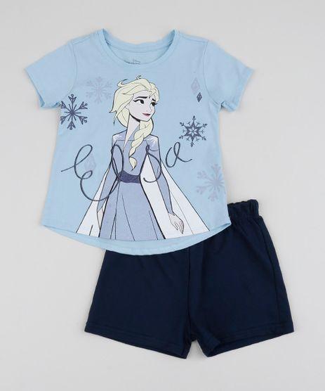 Conjunto-Infantil-Blusa-Elsa-Manga-Curta-Azul-Claro---Bermuda-Azul-Claro-9954247-Azul_Claro_1