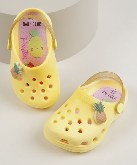 Babuche-Infantil-Baby-Club-Abacaxi-Amarela-9960959-Amarelo_1